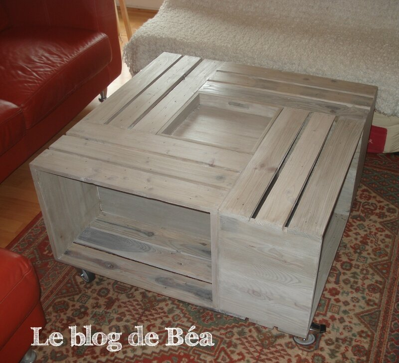 Bekannt Pas à pas : table basse bar - Le blog de Béa JS66