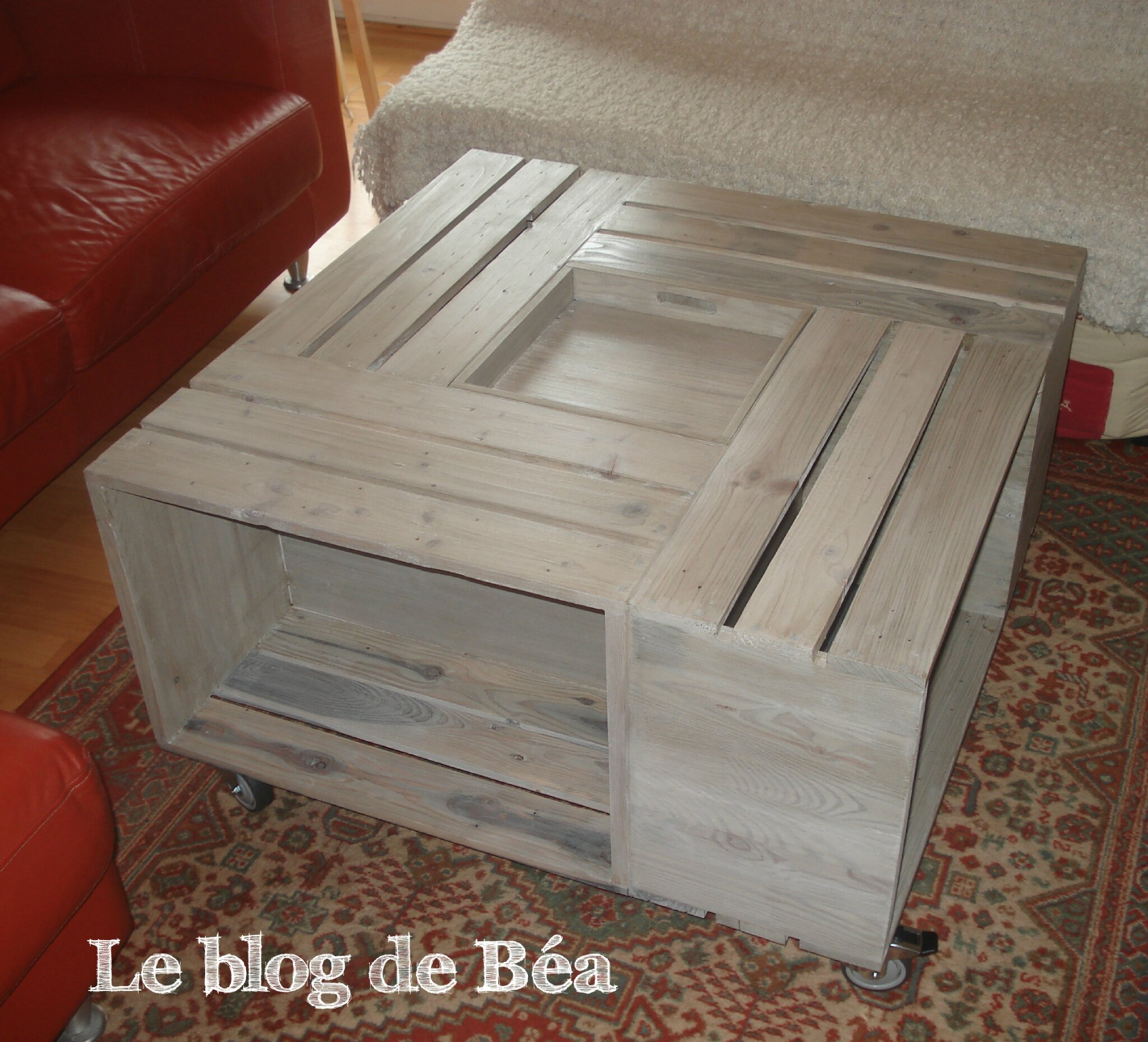 Faire Une Table Basse De Salon