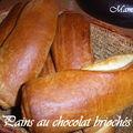 Pains au chocolat brioché