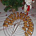 Mini-cakes salés aux noix et aux lardons
