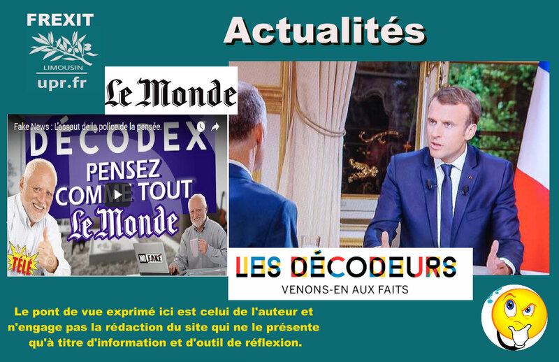 ACT LE MONDE MACRON
