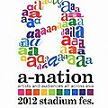 Cover & setlist d'ayu sur le dvd/blu-ray du a-nation '12