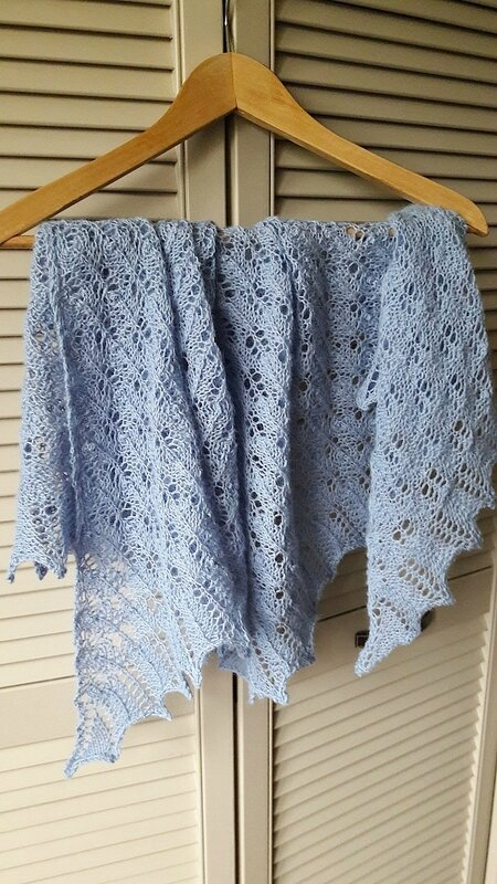 Beginner's Lace Shawl 4