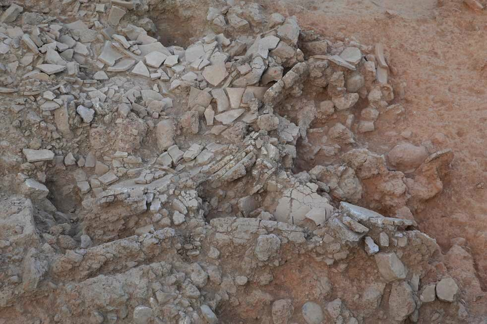 The importance of ancient pottery found at archaeological sites