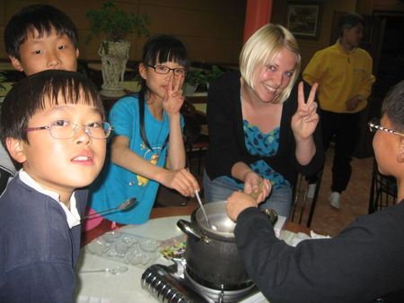 Christy_in_the_throes_of_making_chocolates_for_Sang_ju_orphans