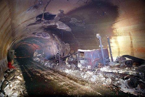 incendie du tunnel du mont blanc le 231 on apprise un pour mille