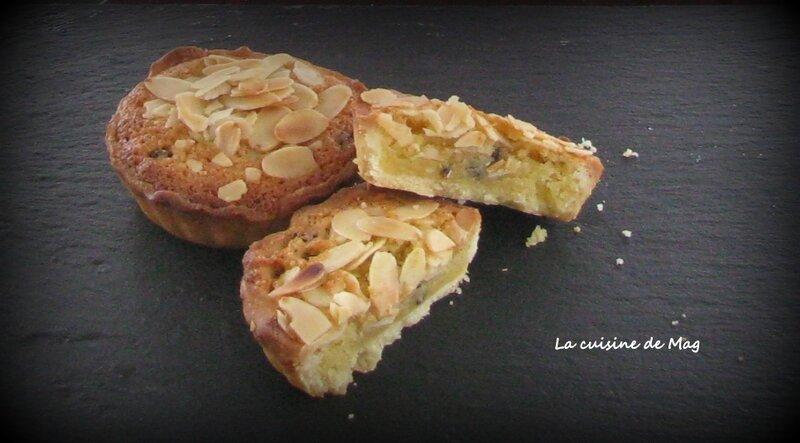 Tartelettes frangipane choco