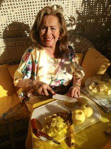tarte aux pommes au soleil