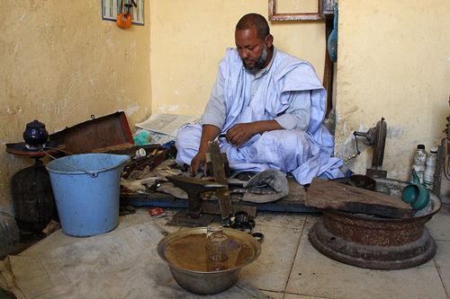 atelier d'artisanat a Nouadhibou