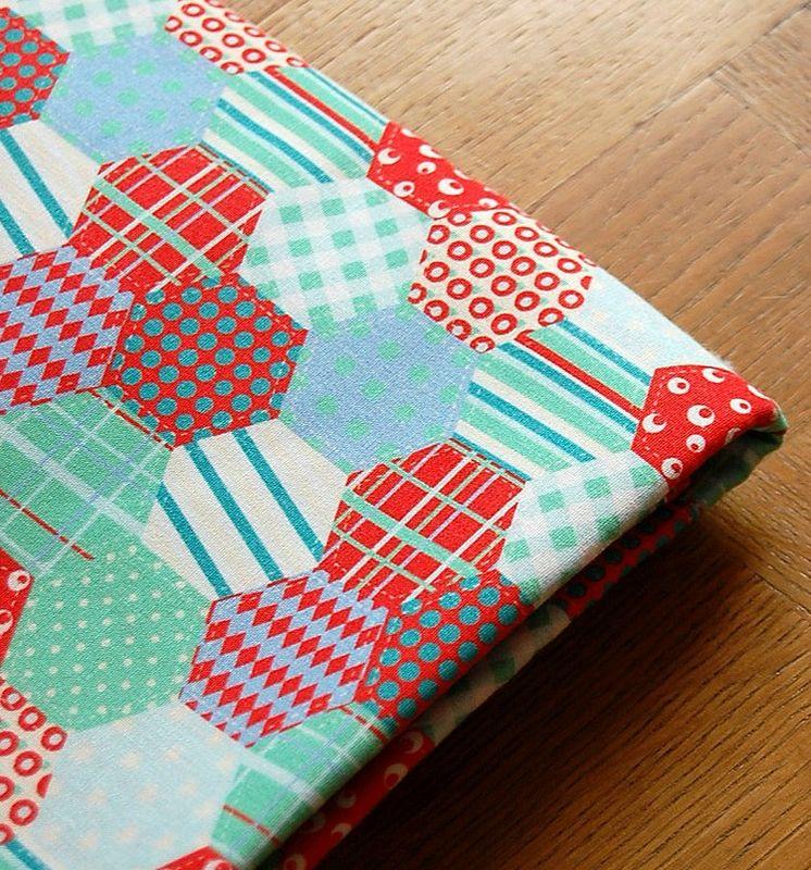 coton patchwork de pts losanges 3