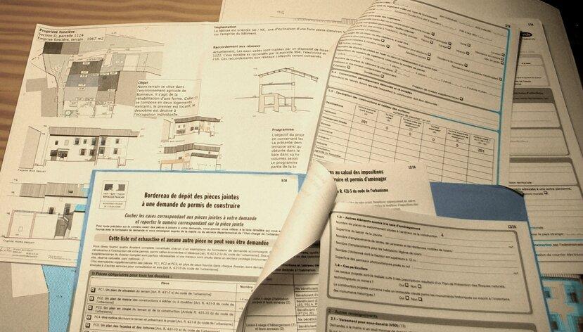 Dossier de permis de construire maryl ne de pedro for Dossier permis de construire