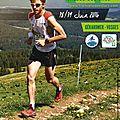 18/06/2106 : trail de la vallée des lacs (56km) ... première course en montagne... un pied d'enfer ;-)