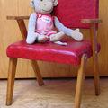 Un fauteuil rouge