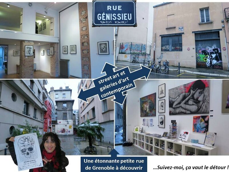 blog rue génissieu street art grenoble galerie d'art contemporain space junk nunc