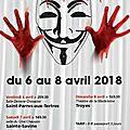 Théâtre amateur - scénoblique les 6, 7 et 8 avril