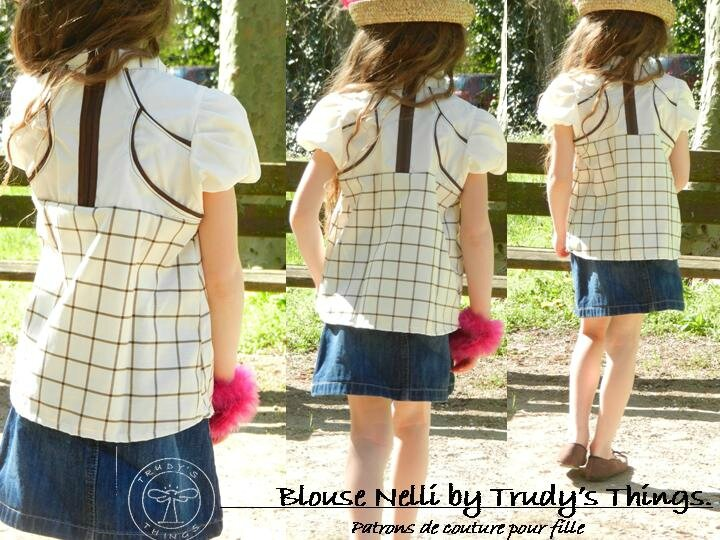 Blouse Nelli by Trudy's Things050515