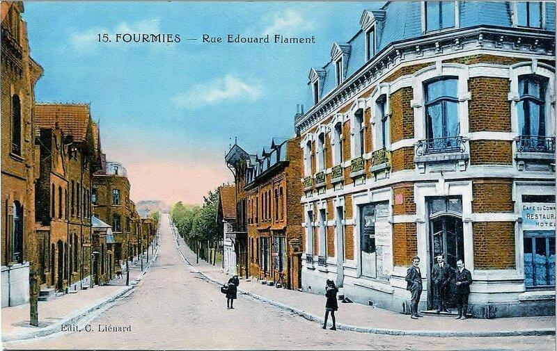 FOURMIES-Rue Edouard Flament