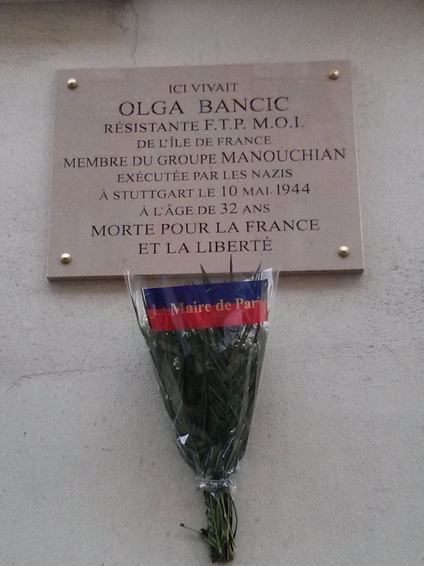 Plaque_commemorative_Olga_Bancic_114_rue_du_Chateau_Paris_14-1