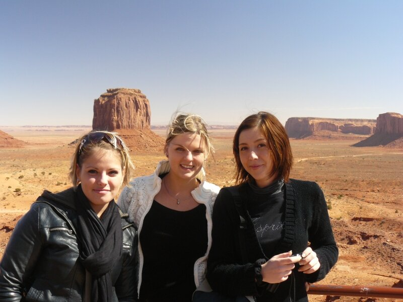 Monument Valley : Eva, Florie, Sandra