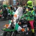 Ouééé j'ai vu un vrai leprechaun sur sa moto! Comment ça je suis naïve?