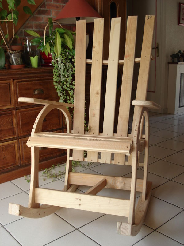 Rocking chair eric bricol - Rocking chair confortable ...