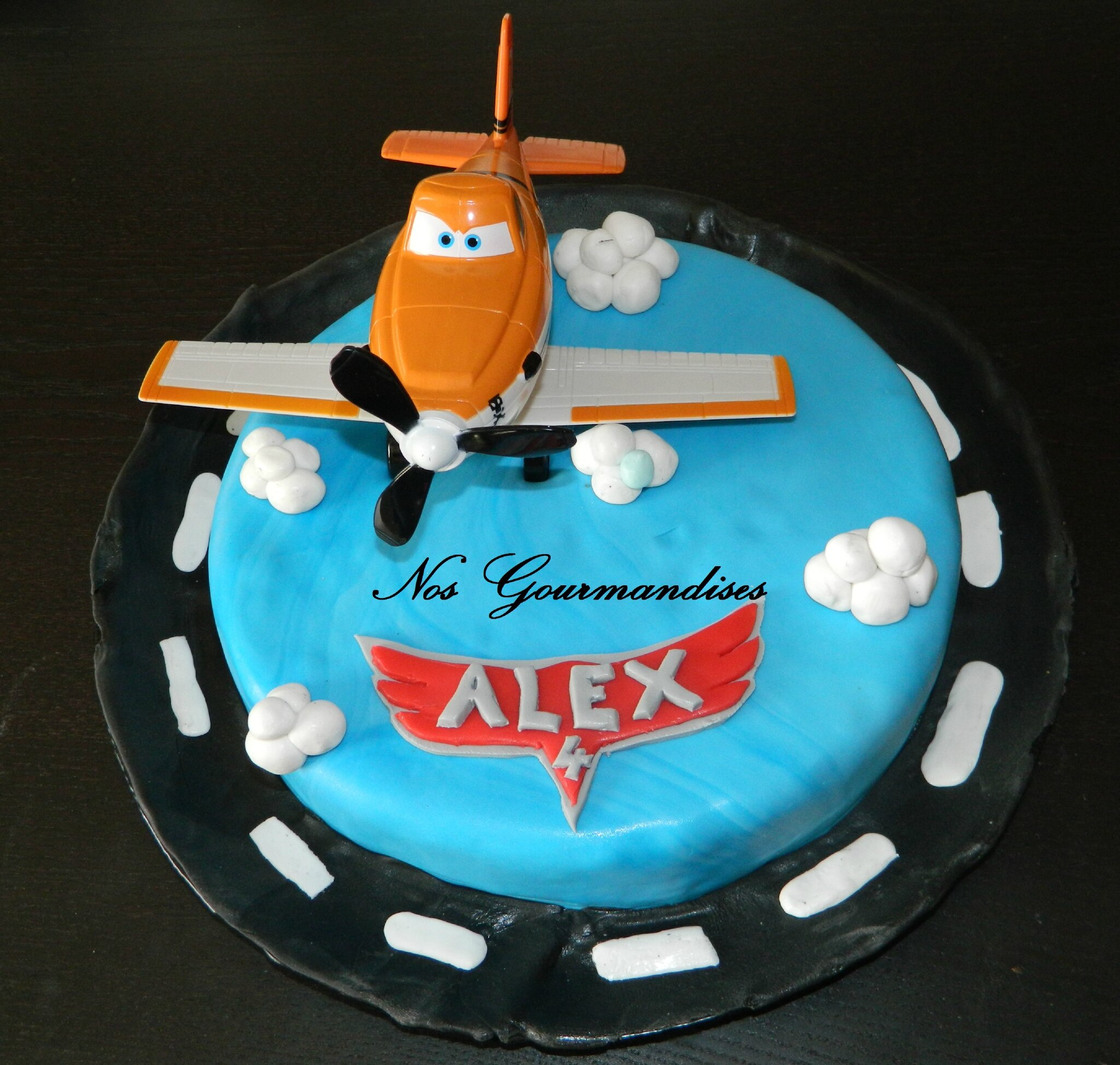 decoration gateau planes 2