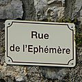 rue de l'éphémère