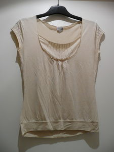 T_shirt_MC_plastron_beige_Etam_1