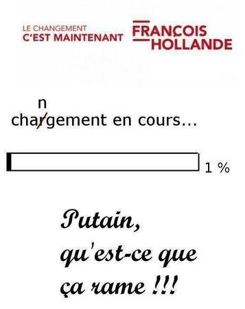 chargement Hollande