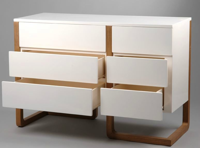 adoptez le style des meubles scandinaves en bois laqu blanc meuble amadeus. Black Bedroom Furniture Sets. Home Design Ideas