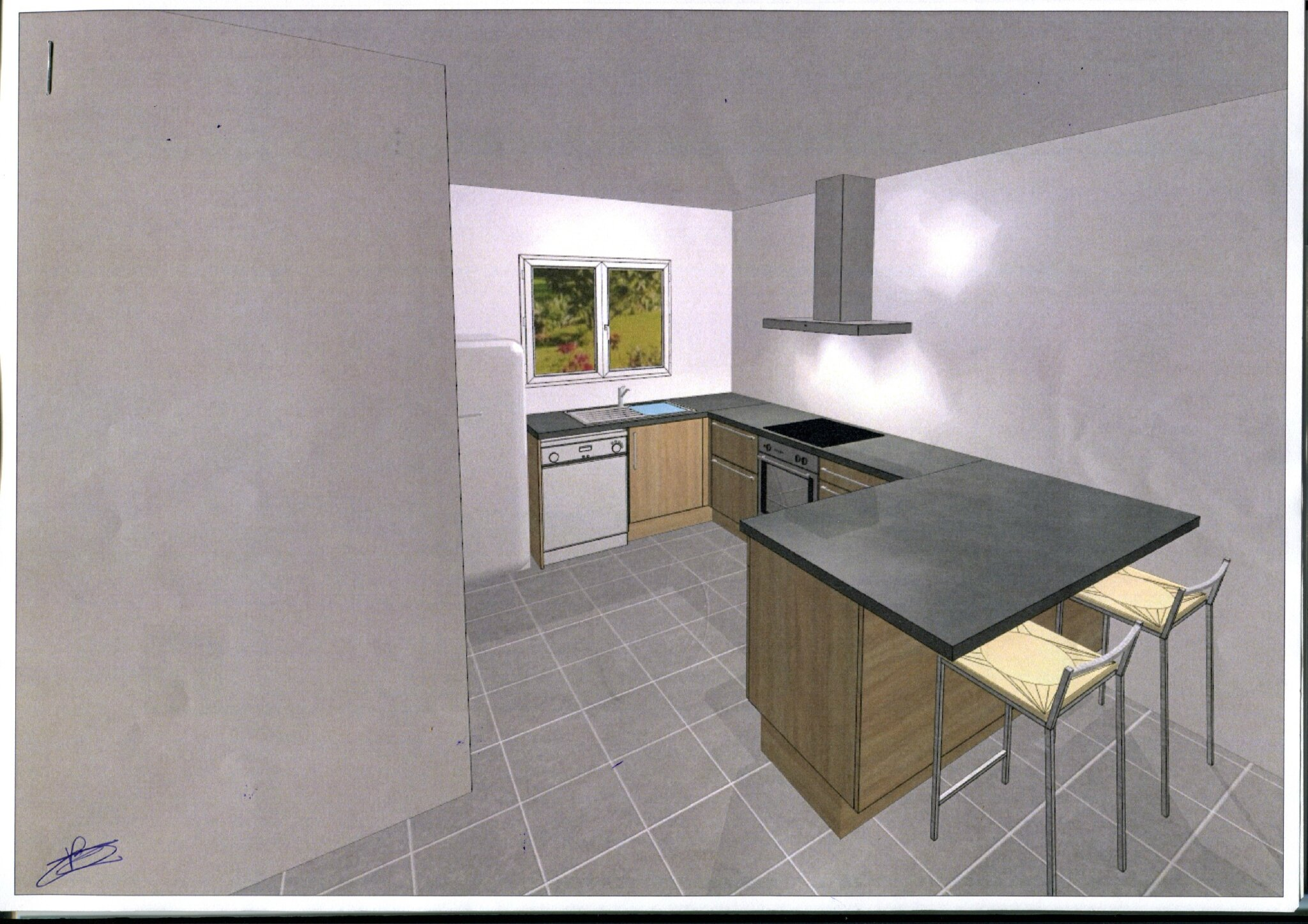 Kitchen kitchen 39 tite pomme for Cuisine 3d ikea ne marche pas