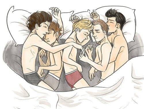BED 5 boys