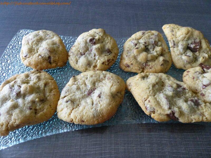 Cookies US gourmands et épais aux pépites de chocolat (44)