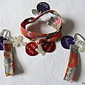 Bracelet Keep Calm and Pray on et marque-pages assortis