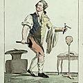 026-Caricature de 1791- Louis XVI fait son tour de France en passant par Varennes