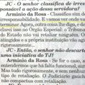Jornal do Comrcio - A Ameaa Arminiesca
