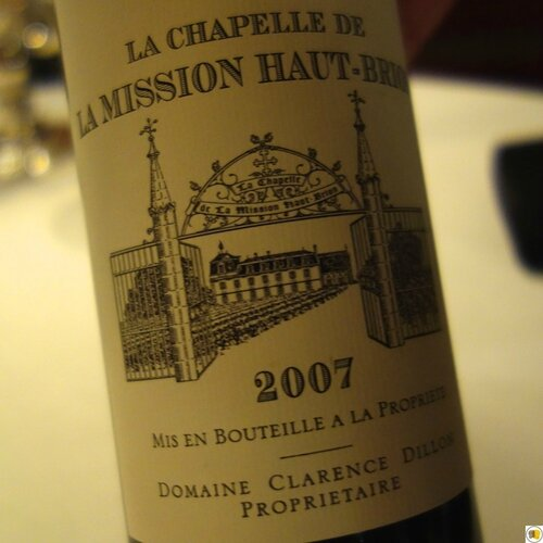 La Chapelle de la Mission Haut-Brion 2007