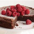 Gâteau au chocolat sans gluten - super pour la fête des mères