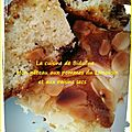 C'est l'heure du goûter : mon gâteau aux pommes du limousin et aux raisins secs