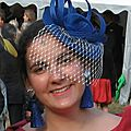 Bibi Berthe avec voilette
