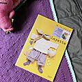 Tricot - couverture bébé