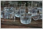 Coffret verres à whisky en cristal Baccarat Arlequin
