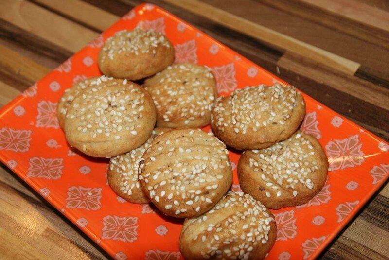 Biscuits au sésame 2