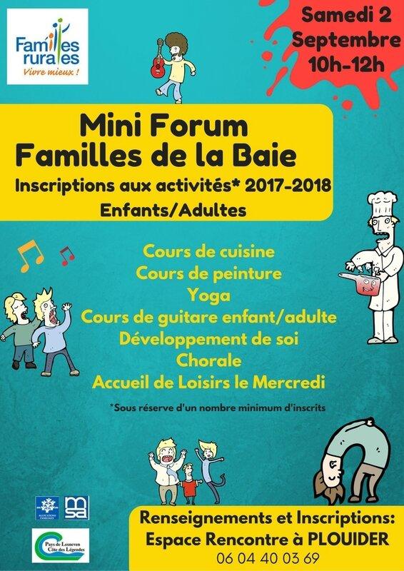 Affiche Mini forum