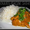 Poulet aux cacahutes faon satay...