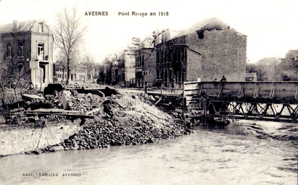 AVESNES SUR HELPE - GUERRE 14-18