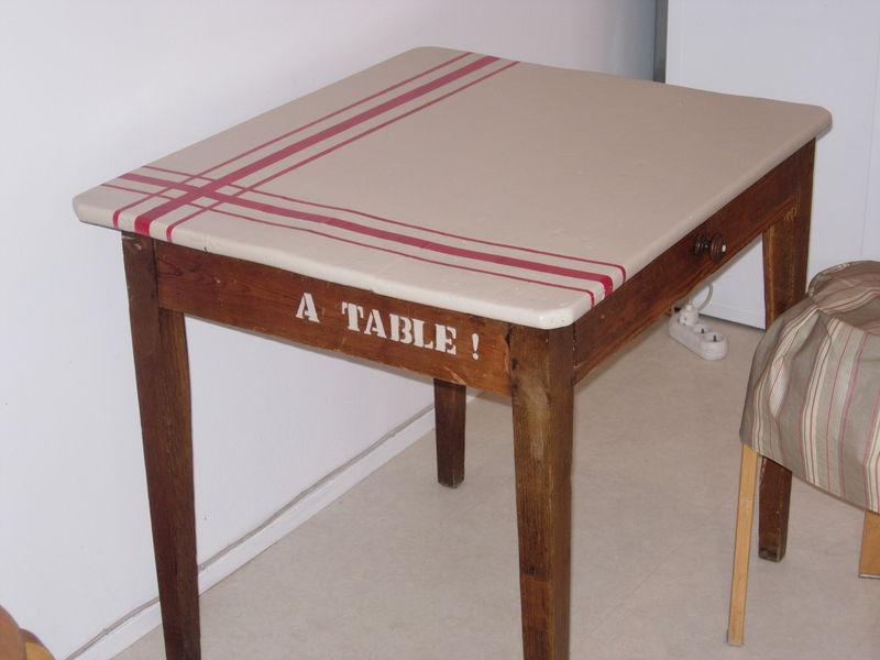 Table suisine apr s apr s photo de relooking de meubles - Relooking meuble avant apres ...