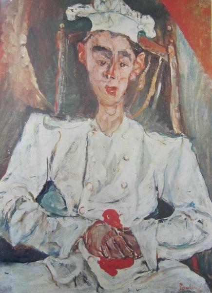 Le Pâtissier 1922 Soutine