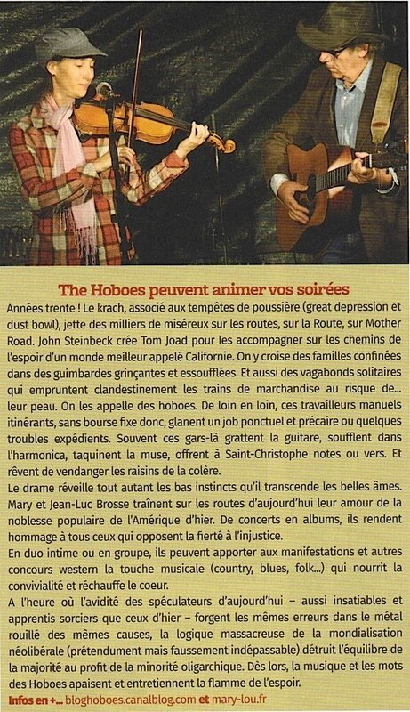 Hoboes article Newestern