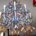 Clin d'oeil-grand lustre en verre de Murano de Formia